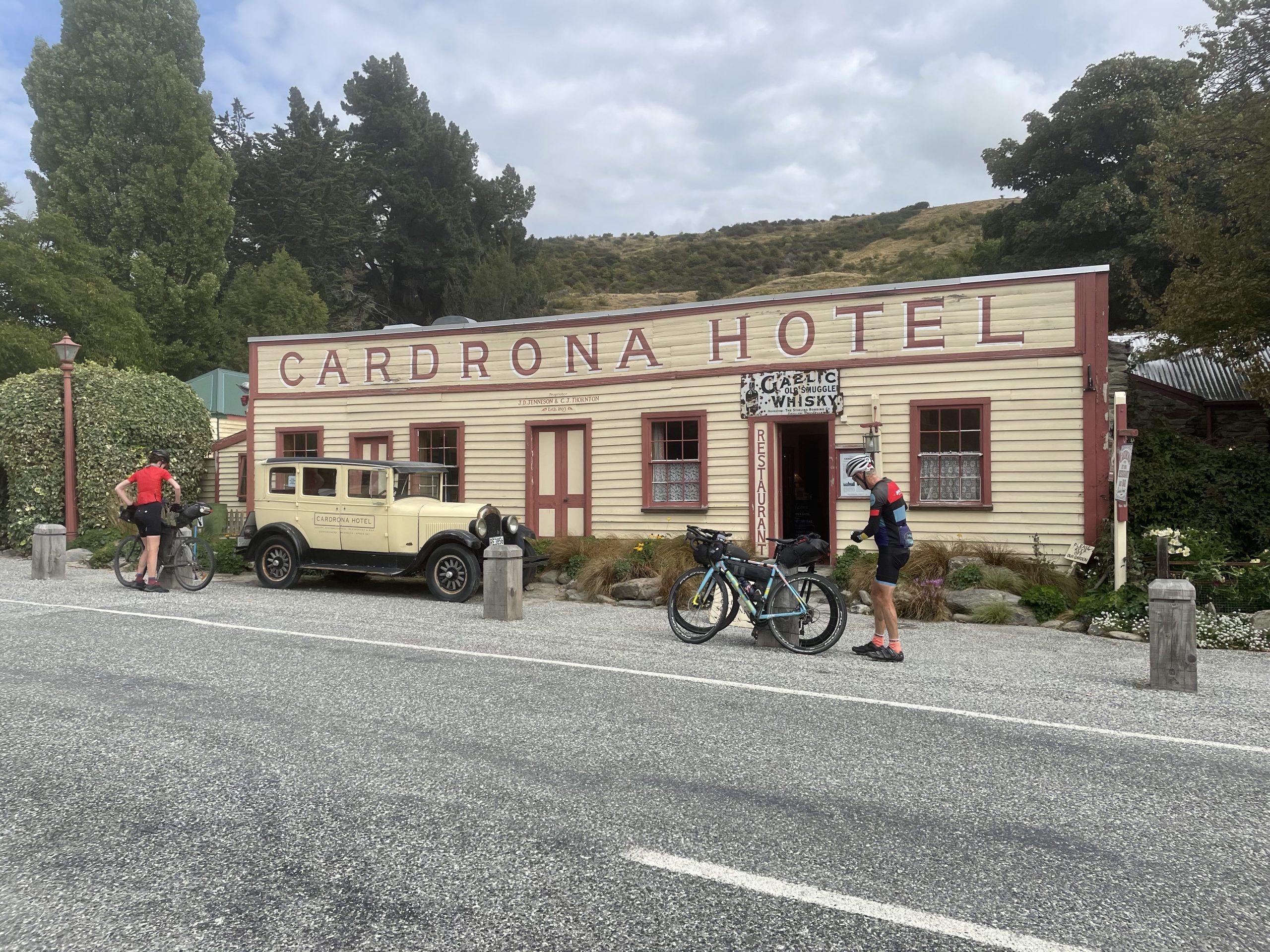 The Cardrona Tavern on the Tour Aotearoa